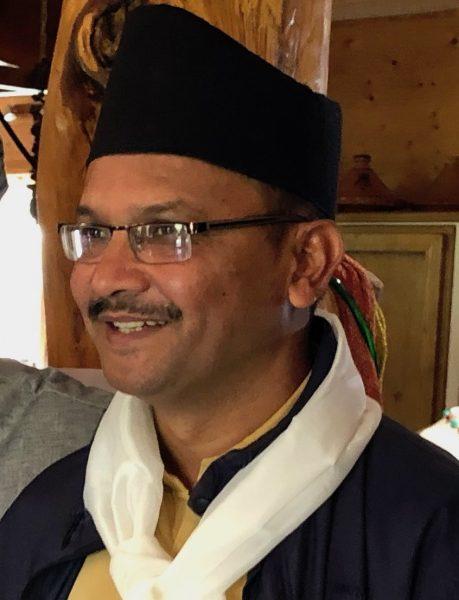 Pdt de l'association népalaise